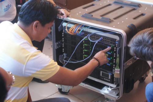 MDRU Terminal Equipment Training