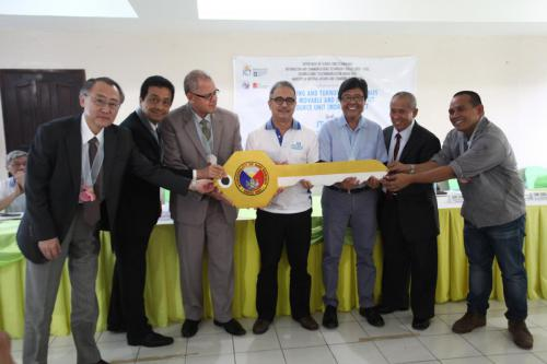Launching and Turnover Ceremonies of the MDRU Project